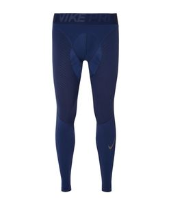 Nike Training   Hypercompression Dri-Fit Jersey And Mesh Tights