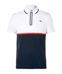 Lacoste Tennis | Slim-Fit Jersey And Piqué Polo Shirt