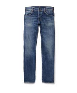 Visvim | Social Sculpture 01 Slim-Fit Distressed Selvedge Denim Jeans