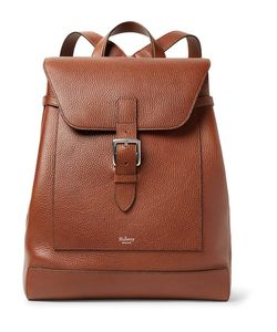 Mulberry | Chiltern Pebble-Grain Leather Backpack
