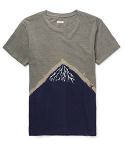 Kapital | Embroidered Printed Cotton-Jersey T-Shirt