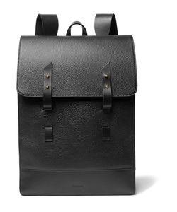 MIANSAI   Full-Grain Leather Backpack