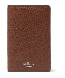 Mulberry | Full-Grain Leather Bifold Cardholder