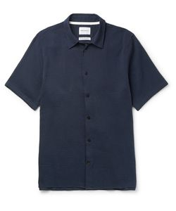 Norse Projects | Theo Cotton And Hemp-Blend Seersucker Shirt
