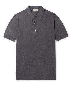 John Smedley | Haddon Cotton And Cashmere-Blend Polo Shirt