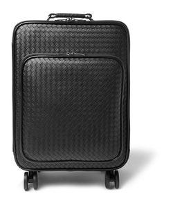 Bottega Veneta | Intrecciato Leather Carry-On Trolley Case