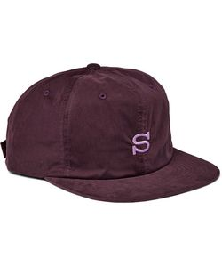 Stüssy | Embroidered Waxed Cotton-Blend Baseball Cap