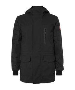 Canada Goose | Selwyn Quilted Shell And Canvas Hooded Down Coat