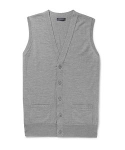 Thom Sweeney | Slim-Fit Wool Vest