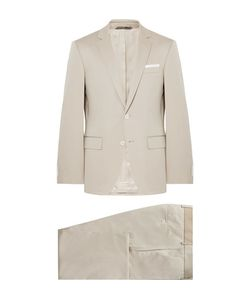 HUGO BOSS | Hutson Gander Slim-Fit Stretch-Cotton Suit