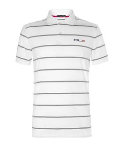 RLX Ralph Lauren | Striped Stretch-Jersey Golf Shirt