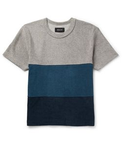 HOWLIN' | Howlin Slim-Fit Colour-Block Cotton-Blend Terry T-Shirt