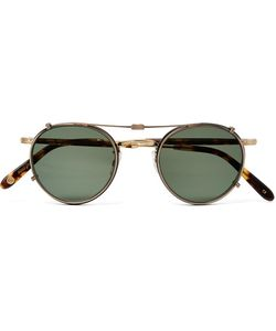 Garrett Leight California Optical | Wilson 46 Round-Frame Acetate And