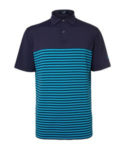 DUNHILL LINKS | Lewes Striped Stretch-Jersey Golf Polo Shirt