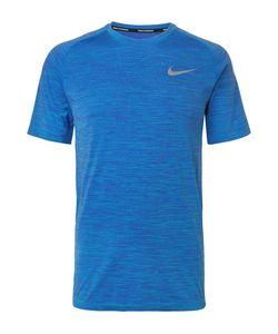 Nike Running | Mélange Knitted Dri-Fit T-Shirt