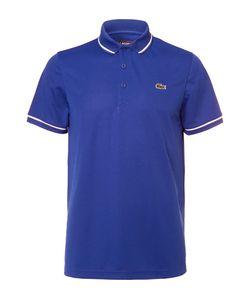 Lacoste Tennis   Contrast-Tipped Piqué Tennis Polo Shirt