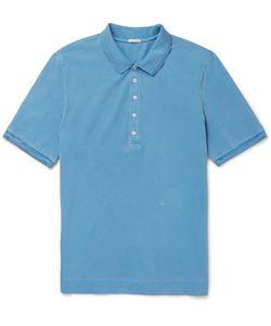 Massimo Alba   Stretch-Cotton Piqué Polo Shirt
