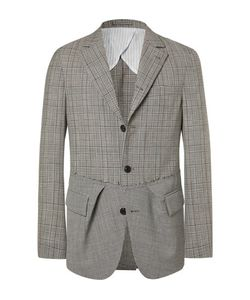 WOOSTER + LARDINI | Wooster Lardini Slim-Fit Prince Of Wales Checked And Puppytooth