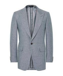 Dunhill | Slim-Fit Slub Silk And Linen-Blend Blazer