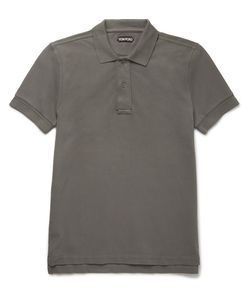 Tom Ford | Garment-Dyed Cotton-Piqué Polo Shirt