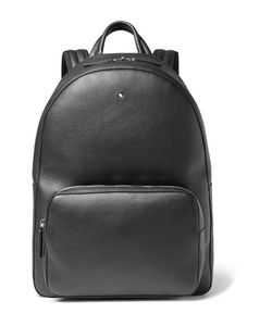 Mont Blanc | Meisterstück Full-Grain Leather Backpack