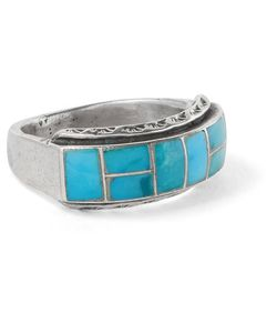 Foundwell Vintage | 1980s Sterling Turquoise Ring