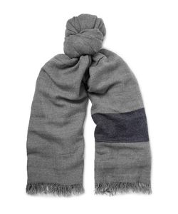 Begg & Co | Rona Striped Cashmere Scarf