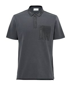 Aztech Mountain | Maroon Creek Shell-Trimmed Stretch Cotton-Blend Piqué Polo Shirt