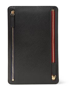 Smythson | Panama Cross-Grain Leather Currency Case