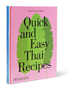Phaidon | Quick And Easy Thai Recipes Book
