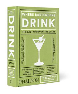 Phaidon | Where Bartenders Drink Hardcover Book