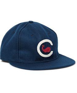 EBBETS FIELD FLANNELS | 1915 Chicago Whales Appliquéd Wool-Felt Baseball Cap