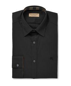 Burberry | Slim-Fit Stretch-Cotton Poplin Shirt