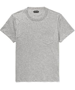 Tom Ford | Mélange Cotton-Jersey T-Shirt