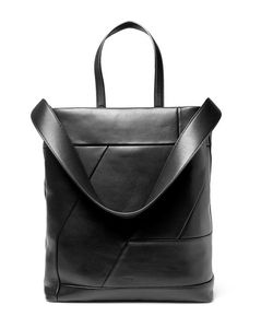 Solid Homme | Leather Tote Bag