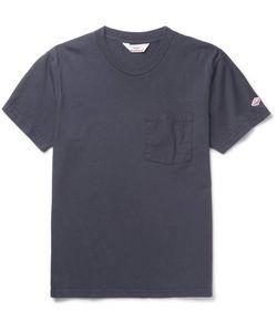 Battenwear | Poplin-Trimmed Cotton-Jersey T-Shirt