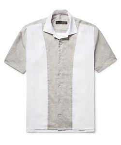 Freemans Sporting Club | Panelled Linen Shirt