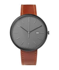 Uniform Wares | M40 Pvd-Coated Stainless Steel And Leather Watch