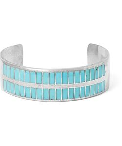 Foundwell Vintage | 1980s Sterling Turquoise Cuff