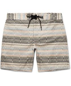 OUTERKNOWN | Evolution Long-Length Printed Econyl Swim Shorts