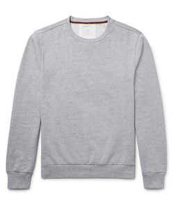 Paul Smith | Elbow-Patch Fleece-Back Cotton-Jersey Sweatshirt