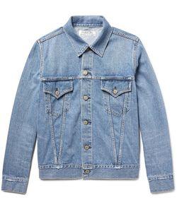 Remi Relief | Slim-Fit Distressed Denim Jacket