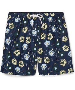 NN07 | Jules Mid-Length Print Swim Shorts