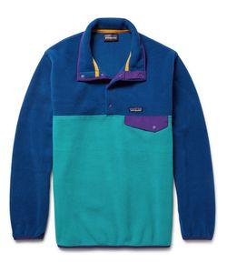 Patagonia | Snap-T Colour-Block Synchilla Fleece Pullover
