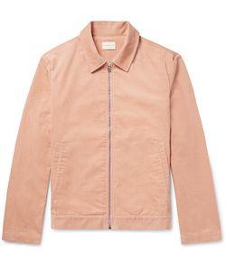 SIMON MILLER | Cotton-Corduroy Bomber Jacket