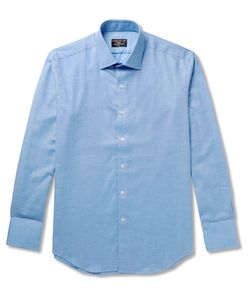 Emma Willis | Slim-Fit Brushed-Cotton Shirt