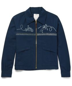 Visvim | Slim-Fit Printed Cotton-Blend Western Jacket