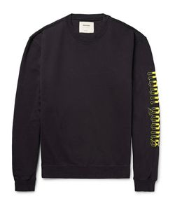 Noon Goons | Printed Loopback Cotton-Jersey Sweatshirt