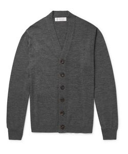 Brunello Cucinelli | Virgin Wool And Cashmere-Blend Cardigan