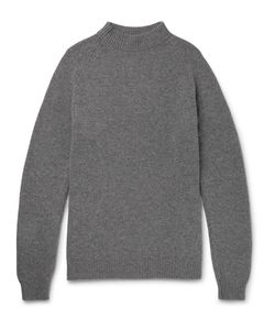 MARGARET HOWELL | Merino Wool And Cashmere-Blend Mock-Neck Sweater